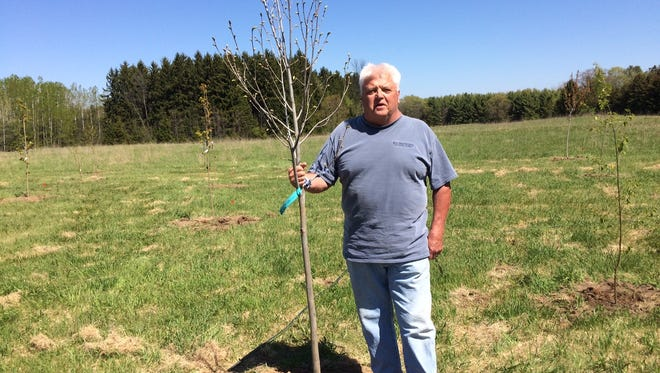 Jim Maki, one of the founders of Crossroads at Big Creek in Sturgeon Bay, has the honor of an arboretum being named after him.