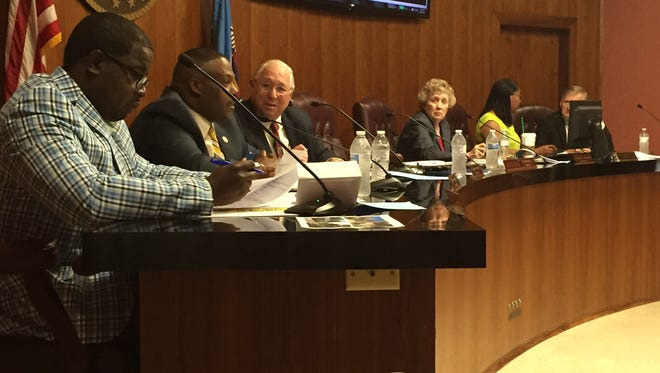 Monroe City Council members introduced an ordinance Tuesday that would put a moratorium on accepting applications for re-entry centers and halfway house services.