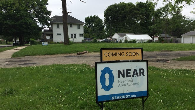 The lot that, 10 years ago, was the site of one of Indianapolis' most notorious crimes is about to be redeveloped.