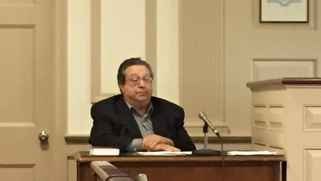 Former medical doctor and ex-Madison Borough Councilman Vincent Esposito at trial of Srinivasa Raju.