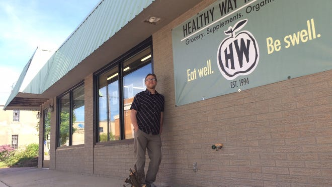 Owner Adam Goettelman plans to reopen the Healthy Way Market at its new 142 S. Third Ave. location in Sturgeon Bay on Monday.