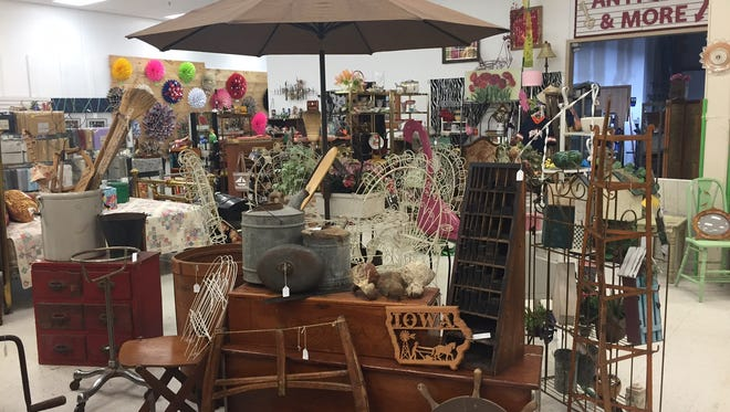 Eastside Antiques & More has opened at 613 S. Sycamore Ave.