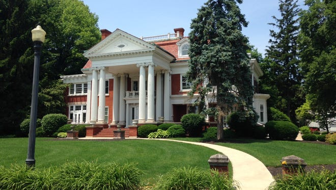"""""""Maplewood"""" is a former Ball brothers house that has been used by Ball Corp. and spinoff companies as a guest house since the 1980s."""