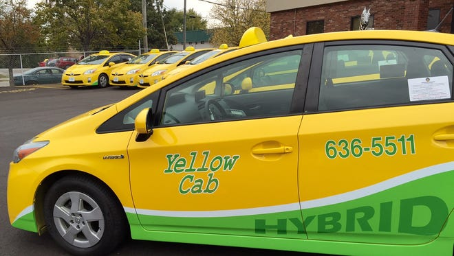 Officials of Yellow Cab said the Prius hybrids are the first step in an ongoing effort to add more eco-friendly vehicles to the fleet.
