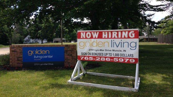 Golden LivingCenter in northwest Muncie is rated much below average by Medicare/Medicaid.