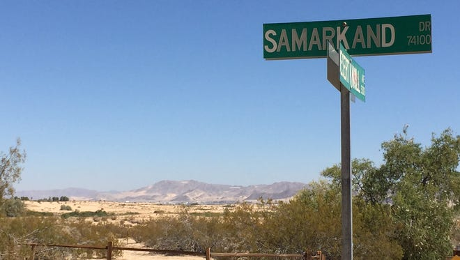 Three children were found in the desert off Samarkand Drive in Twentynine Palms. Their parents forced them into the area as punishment, according to the San Bernardino County Sheriff's Department.