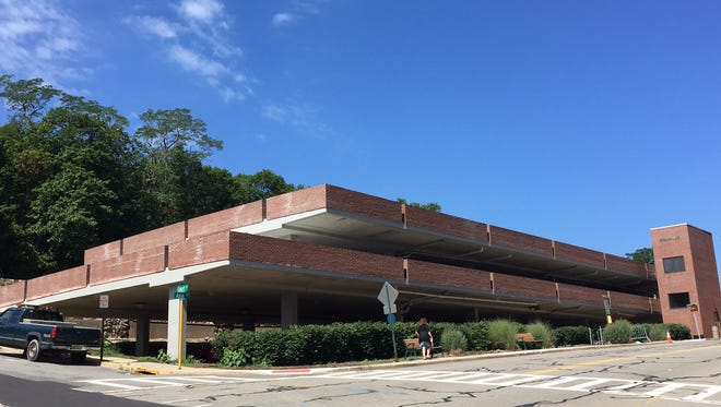 Morris County-owned Ann Street Parking Garage in Morristown at corner of Ann and Court Streets