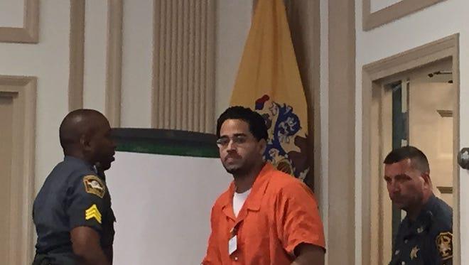 Alleged drunken driver Bhavuk Uppal in Superior Court, Morristown, on Aug. 9, 2016.