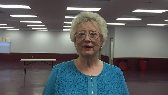 Susan Crittendon was elected Tuesday as Lumberton Ward 2 alderwoman.