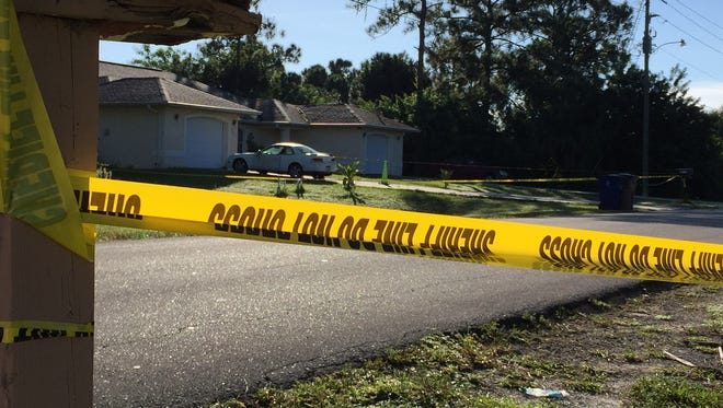 Lee County Sheriff's deputies are working a death investigation scene on Golfview Drive in Lehigh Acres.