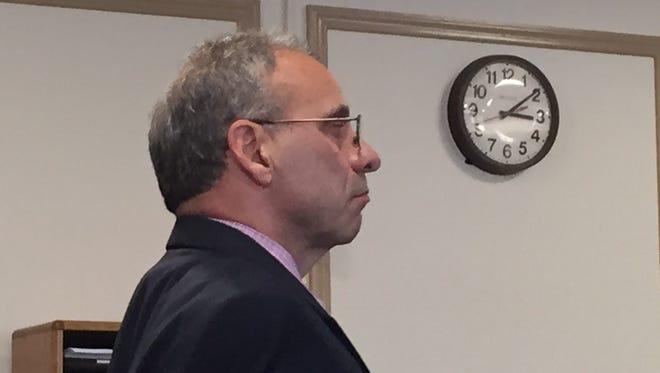 Richard Bernardi, former operator of Fenimore Landfill in Roxbury, in Superior Court on Sept. 21, 2016.