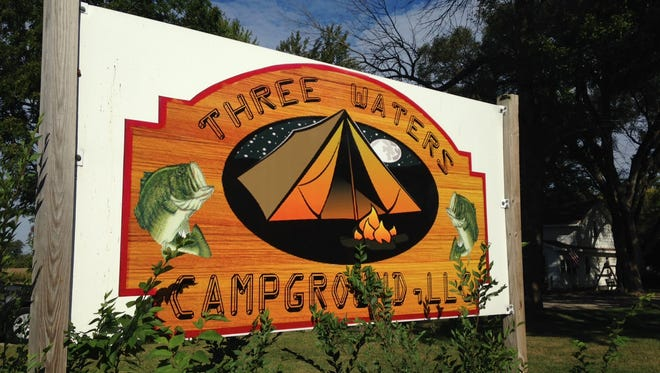 Three Waters Campground east of Farmland on Ind. 32 is closing after being sued by the state health department.