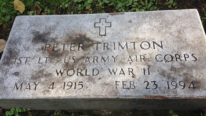 Mars, Inc. candy company executive Peter Trimton is buried at Beech Grove Cemetery.