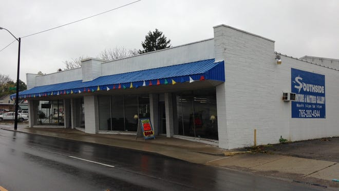 Southside Furniture Store has sold its building to an investment company that plans to lease it to a plasma company.
