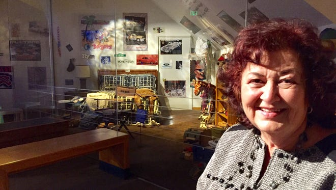 """Jeanne White Ginder is pictured outside her son Ryan White's bedroom, part of """"The Power of Children"""" exhibit at The Children's Museum. Ryan died 26 years ago of complications from AIDS."""