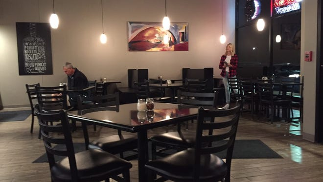 Seven Stone Pizzeria is located on University Avenue in West Des Moines.