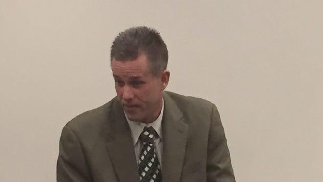Former Randolph Police Chief Robert Mason on Nov. 29, 2016.