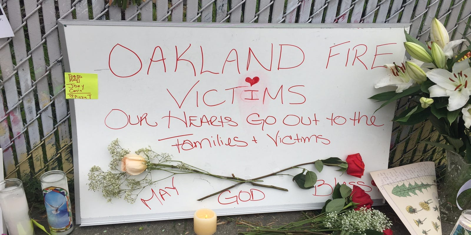 Oakland Fire Victims Came To Find Like Minds