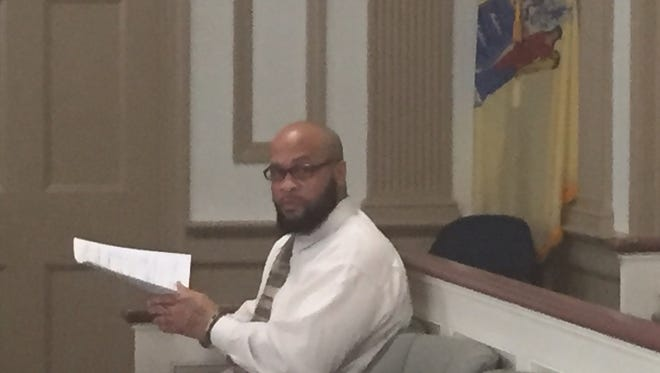 Tyhan Lighty, immediately after pleading guilty on Dec. 6, 2016 to robbing a parking garage attendant at Morristown Medical Center.