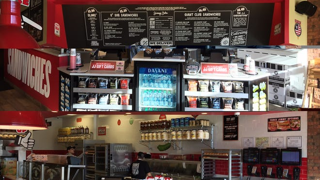 Jimmy John's, a franchised sandwich restaurant, has a Mount Laurel location, which opened in October at 7000 Midlantic Drive.