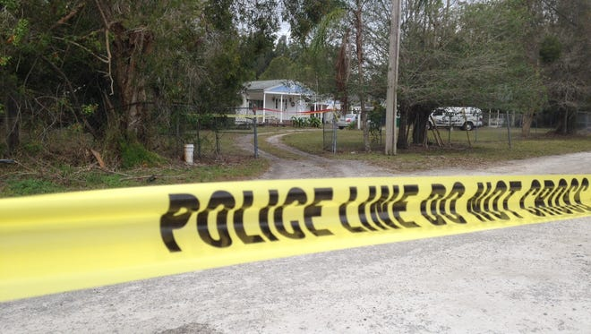 A 74-year-old mother is dead and her son is hospitalized after a homicide Saturday afternoon at a White City home, according to the St. Lucie County Sheriff's Office. Police were still looking for a suspect Sunday morning.