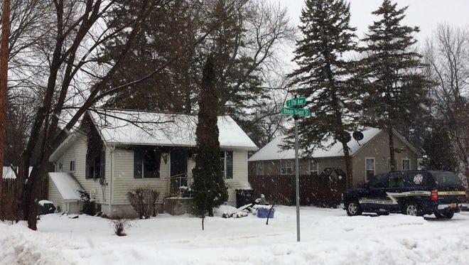 A Sturgeon Bay home was severely damaged by fire Monday night. The cause of the fire is thought to be an unattended candle.