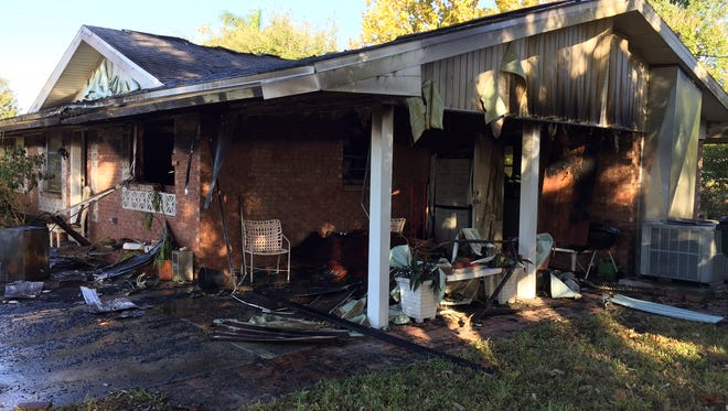 A home on Cypress Lake Road in south Fort Myers was heavily damaged in an early  morning fire on Thursday.