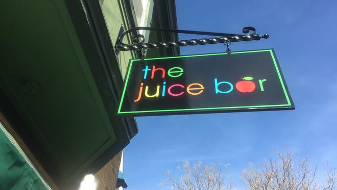 The Juice Bar is one of several new businesses to set up shop early this year in Merchantville.