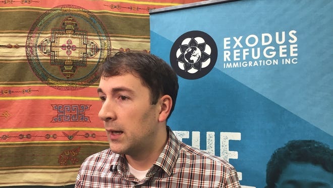 Cole Varga, executive director of Exodus Refugee Immigrant Inc., has had to cut more than a third of his staff at the nonprofit resettlement agency following reductions in the pipeline of refugees.