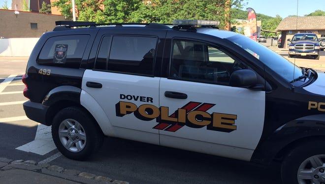 Dover police car
