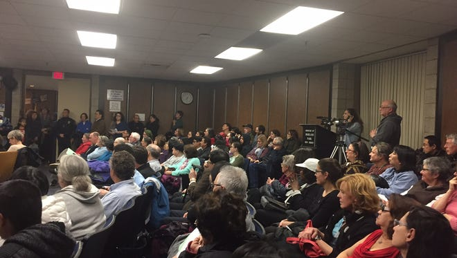 Highland Park residents packed Tuesday's Borough Council meeting where many expressed their opinions on a proposed resolution concerning immigrant status.