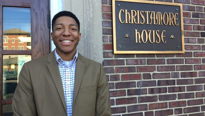 Ali Abdul-Ghani, a senior at Purdue University, is a four-year scholarship recipient of the Christamore House Guild. He will speak at the organization's Book & Author Luncheon on April 21.