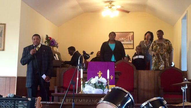 Bethesda Missionary Baptist Church Choir performed at Prospect Christian Methodist Episcopal Church on Sunday.
