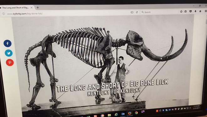 Big Bone Lick is featured on Kentucky For Kentucky.