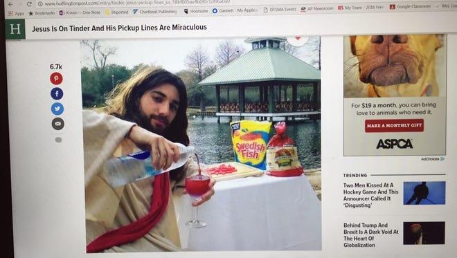 Tinder Jesus