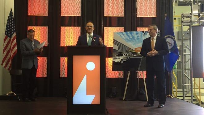 Gov. Matt Bevin announces that the Ignite Institute will receive a $6.8 million Work Ready Skills initiative grant.