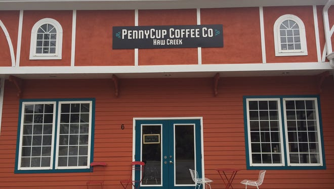 PennyCup Coffee Co. Haw Creek opens Friday at 6 Beverly Road.