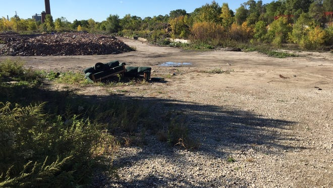 A large vacant parcel near the harbor could eventually be redeveloped after an environmental cleanup.