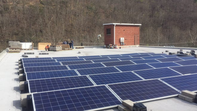 The Kentucky Coal Museum adds solar panels