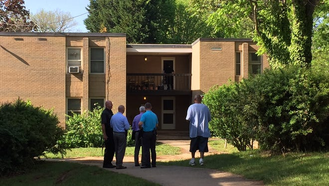 Asheville Police are investigating after a report that three people were found dead in an apartment on South French Broad Avenue, according to Christina Hallingse, public information officer for the Asheville Police Department.
