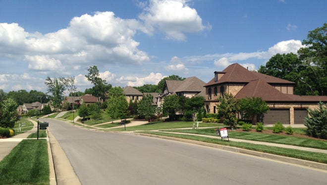 The homes planned at The Reserve at Raintree Forest will be similar to those at Tuscany Village in Brentwood.