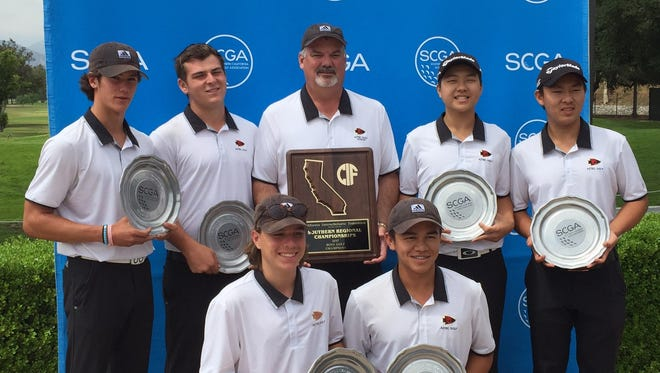 The Palm Desert boys' golf team won the team's fifth SCGA team title and clinched its first-ever state tournament berth.