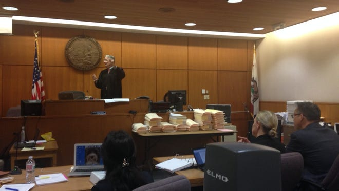 Ventura County Superior Court Judge Kent Kellegrew explained on Tuesday his decision to exclude reportsdocumenting the type and amount of pesticidesused at Anacapa Berry Farms.