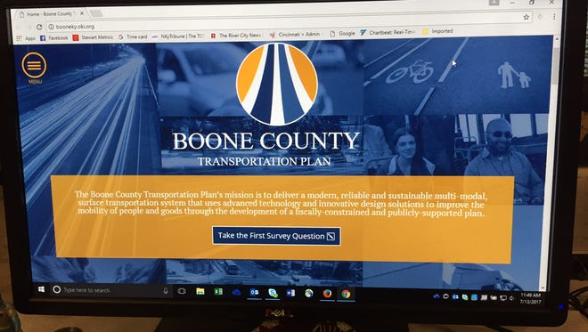 Information on the Boone County Transportation Plan can be found at www.booneky.oki.org.