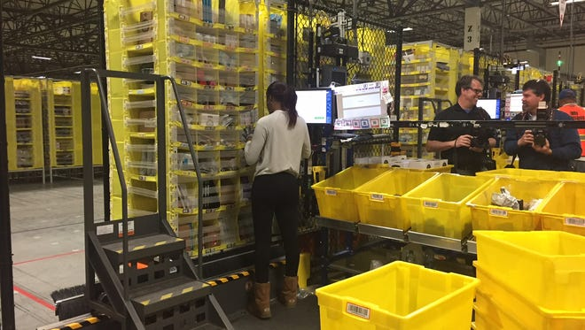 Amazon is looking to fill 50,000 jobs at fulfillment centers across the United States. An Amazon Job Day event will be held at its Robbsinville fulfillment center Aug. 2.