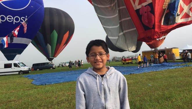 Arav Katakam, 9, of Green Brook.