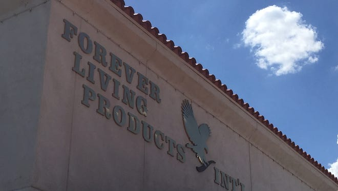 Scottsdale-based Forever Living Products sells nutrition items, oils, lotions, cosmetics and more.