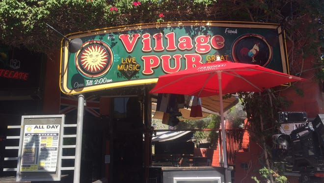 The Village Pub in downtown Palm Springs will be closing for 30 days after their liquor licensed was revoked.