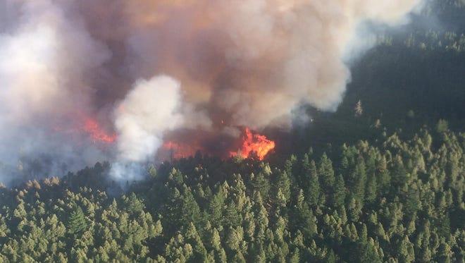 Chetco Bar Fire is burning in southwest Oregon.