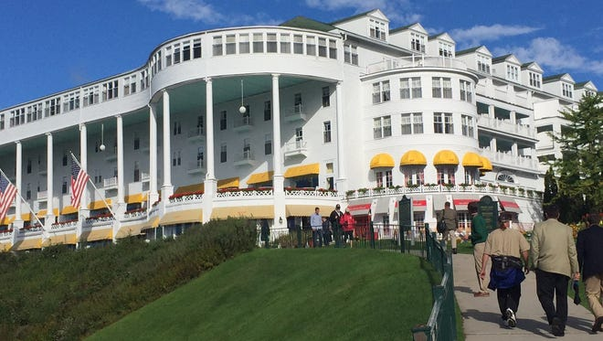 The Mackinac Republican Leadership Conference, held every other year, is under way at the Grand Hotel on Mackinac Island.